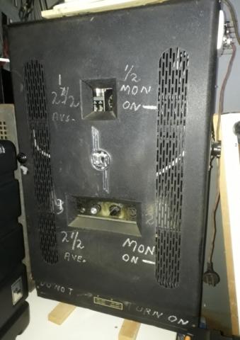 RCA Theatre Amp 1950's 2 x 15w 1 x 6L6 and 2 x 6V6
