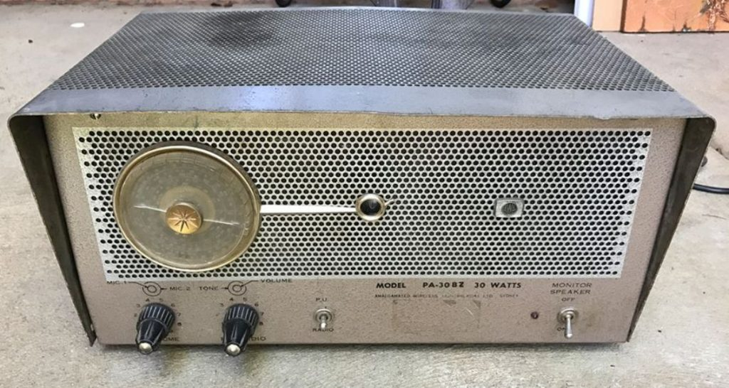 AWA PA-30BZ With Radio Module 30W via 2 x KT88