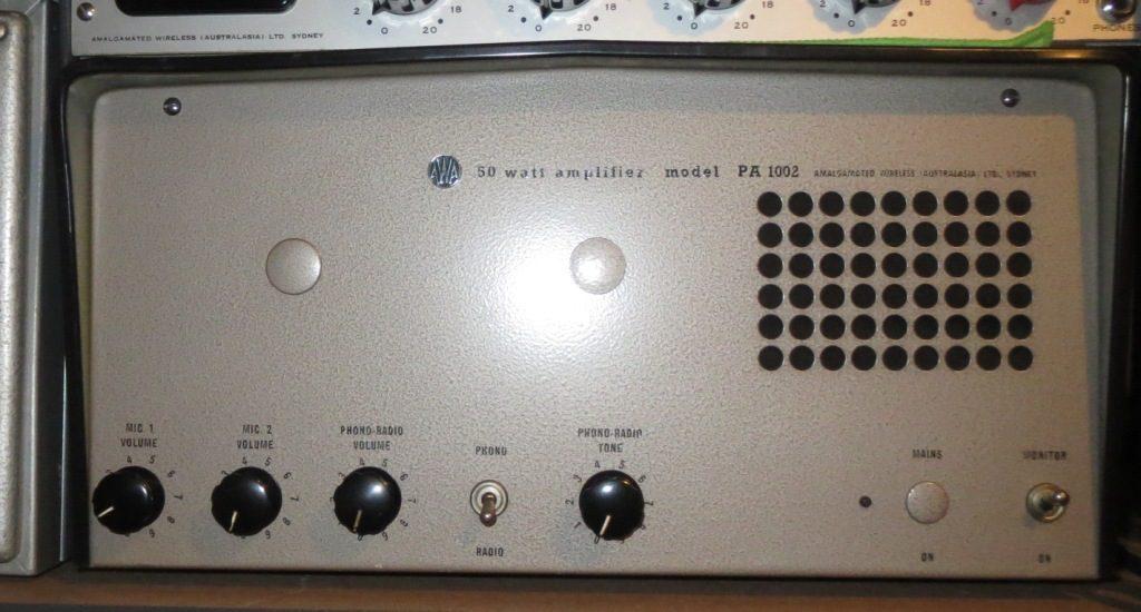 AWA PA1002 50w Mid 1960's
