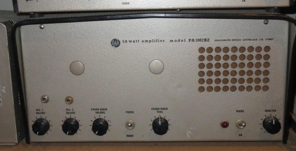 AWA PA1002BZ 50w Mid 1960's Low Impedance In