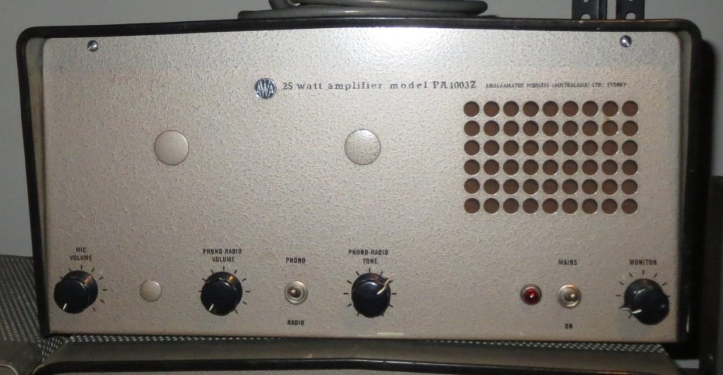 AWA PA1002BZ 25w Mid 1960's Low Impedance In