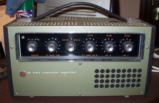AWA PA1004 Late 1960's Transistor 20w Ex Keith Koen