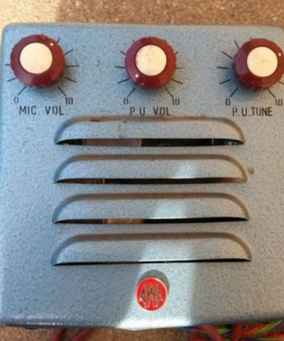 AWA PA806 Late 1950's 5w Via 1 x 6V6