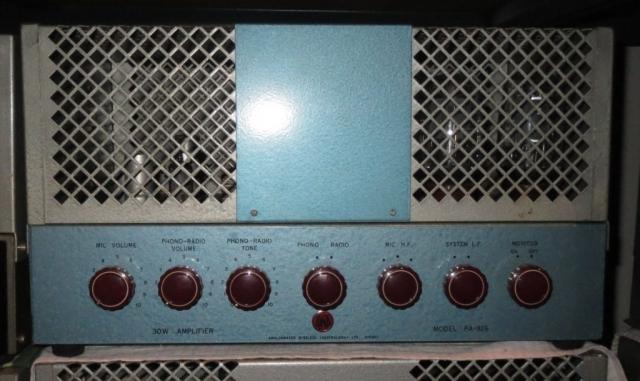 AWA PA826 30w  Mid 1950's