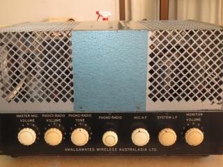 AWA PA827 Mid 1950's 70w serial 2 Prototype 70w Via 4 x KT66