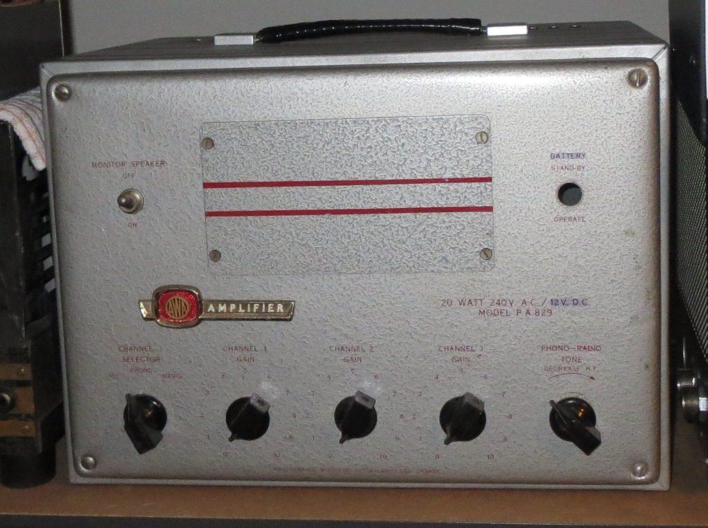 AWA PA829 20w AC DC Mid 1950's