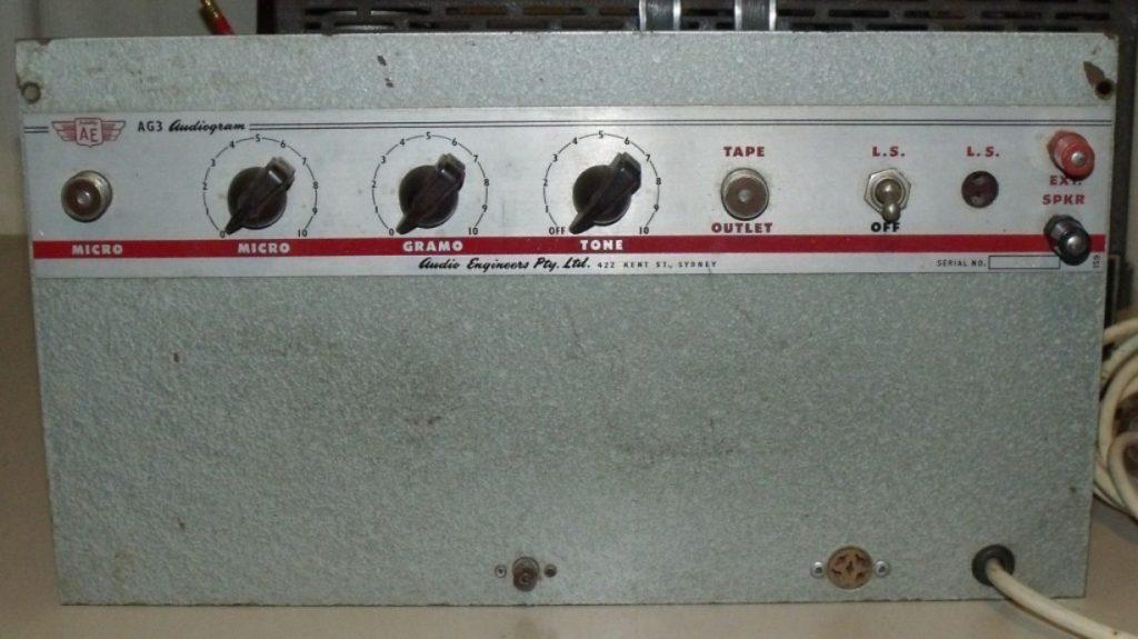 Audio Engineers AG3 10W Via 1 x 6L6G