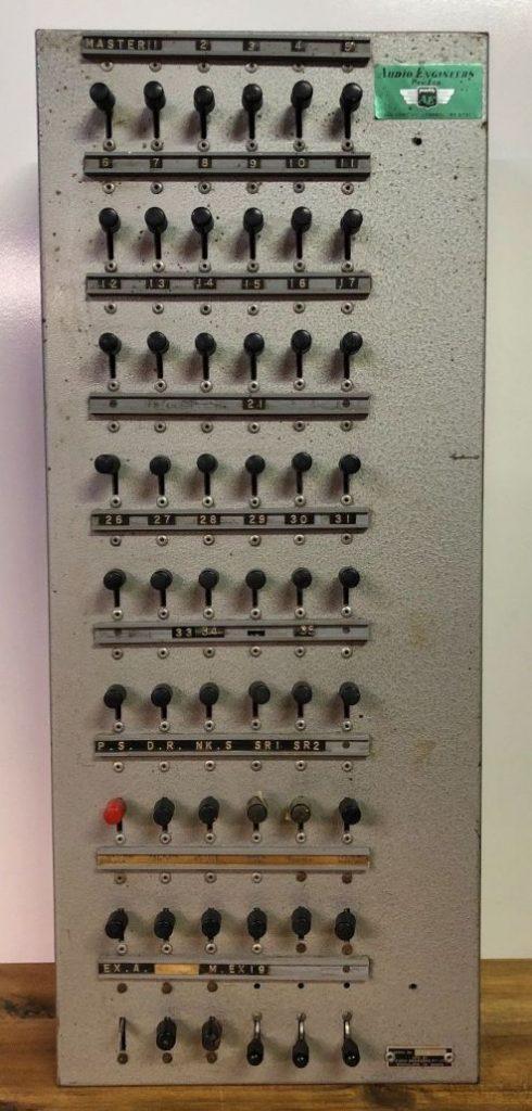 Audio Engineers Speaker Switch Panel
