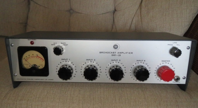 AWA Bar 2B Broadcast Mixer