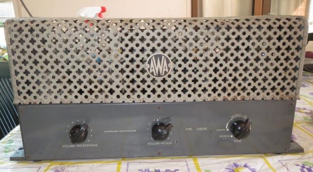 AWA G50742 Early 1950's 15w Via 2 x 6V6