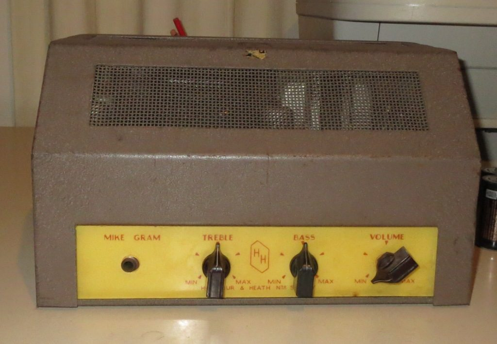 Harmour &  Heath Projector amp Late 1950's 10w Via 2 x 6M5