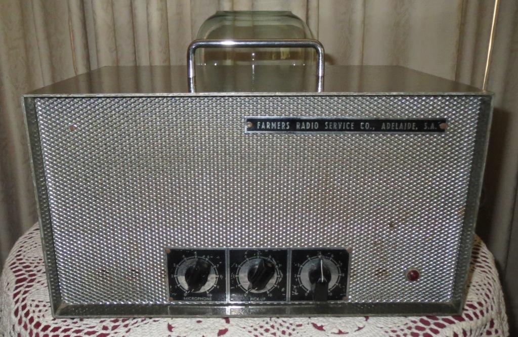 Farmers Radio Amplifier 15w 1950's