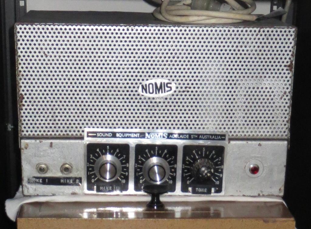 Nomis 1950's Ex Edithburgh Institute 16w Via 2 x 6V6