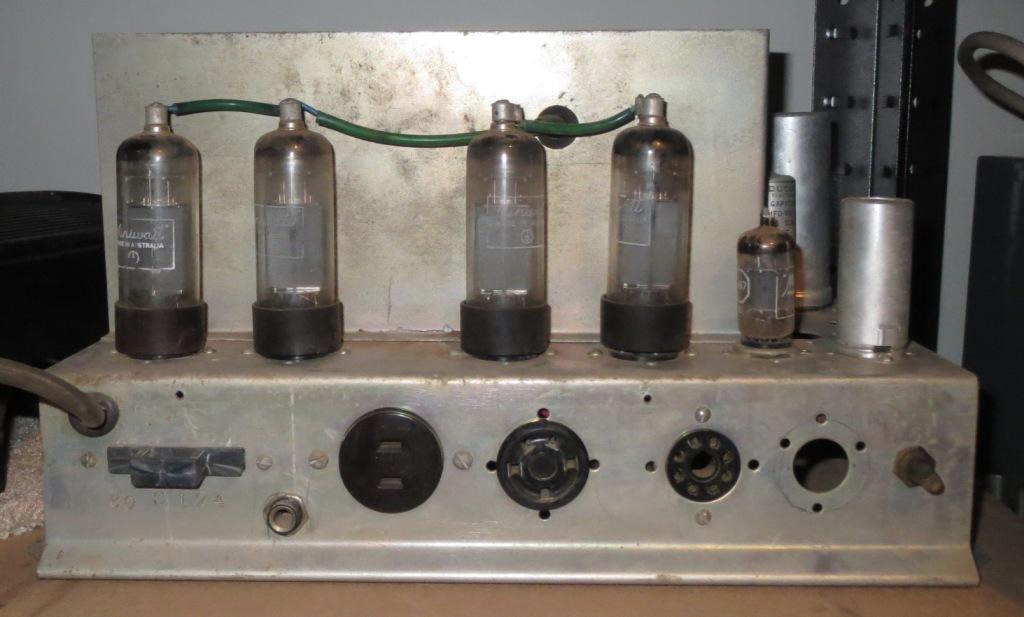Australian Sound Mid 1960's School System Slave Amp 50w Via 4 x 6CM5