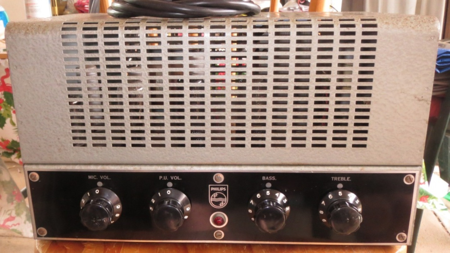 Philips 959 9 Mid 1950's 15w Via 2 x 6V6