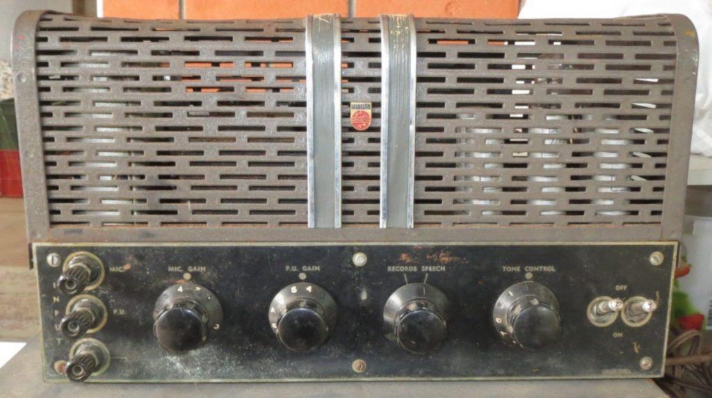 Philips 951 1947 15W Via 2 x 6V6