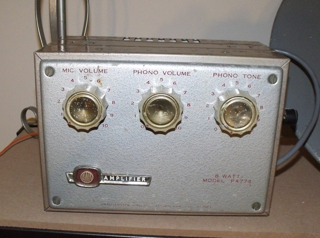 AWA PA774 Early 1960's 8w Via 2 x 6BM8