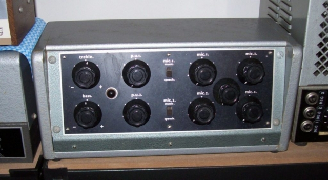 Philips 1229 Mixer Ex Marrickville RSL