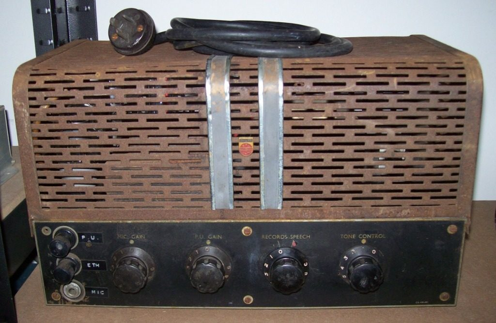 Philips 954 1947 25w Via 2 x 807