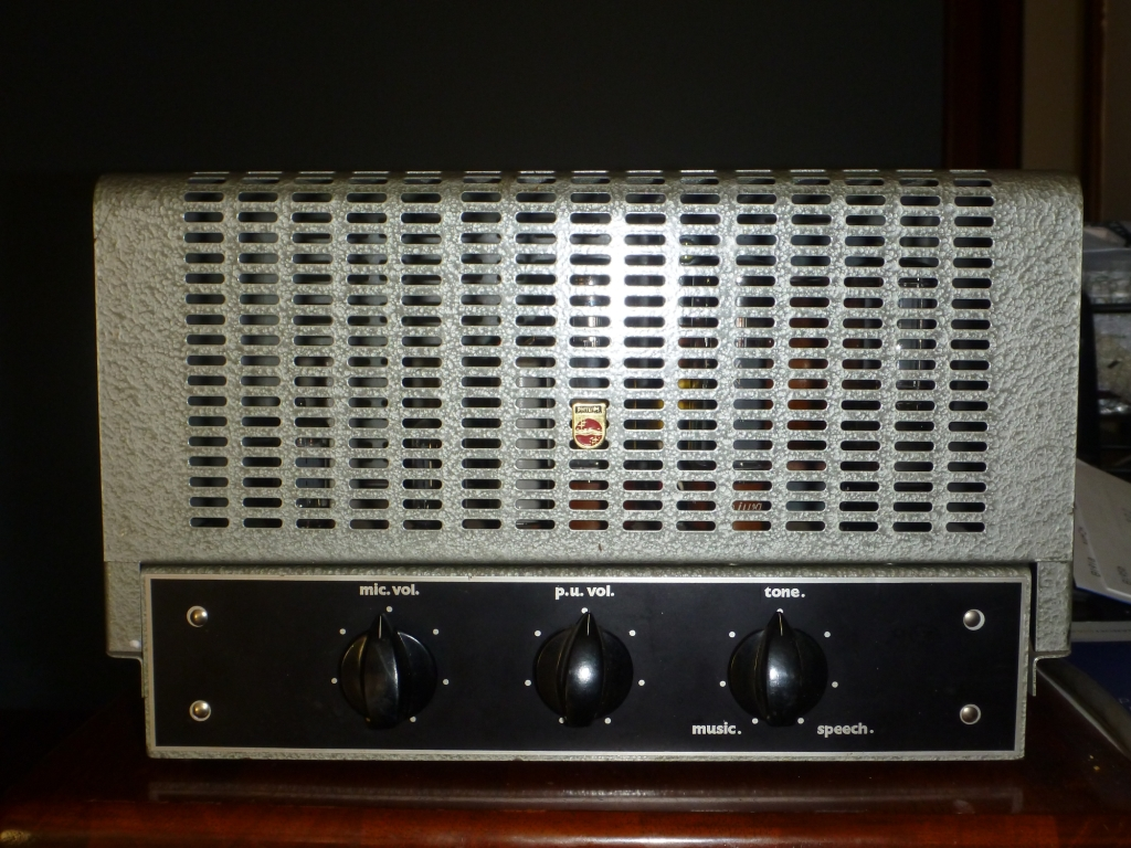 Philips 982 Late 1950's 25w Via 2 x EL34