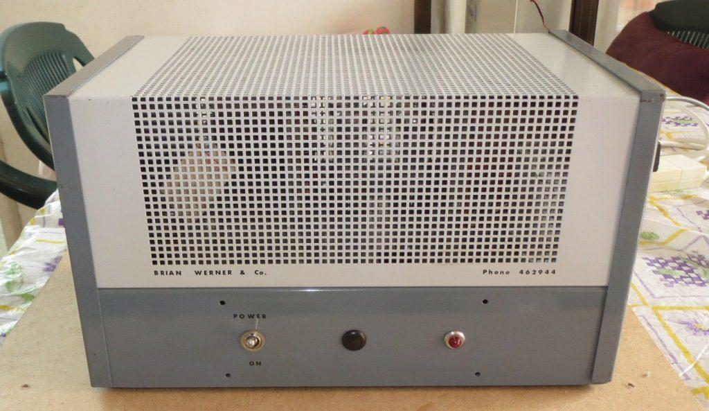 Philips EV4416 Slave Late 1960's 60w Via 4 x 6CM5