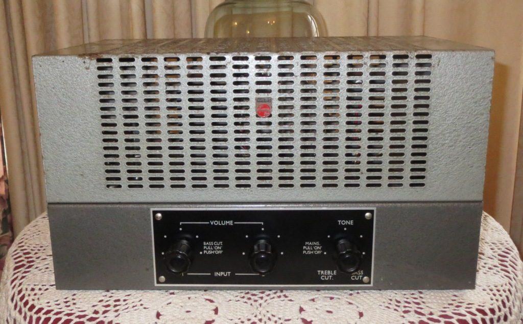 Philips EV4431 Early 1960's 30w Via 2 x 6CM5