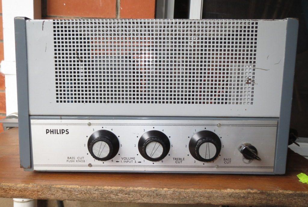 Philips EV4436 Late 1960's 60w Via 4 x 6CM5