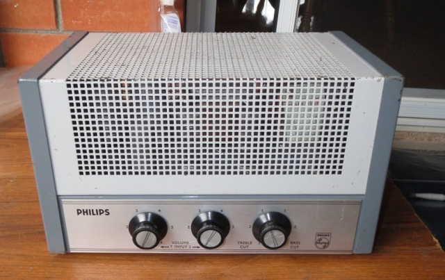Philips EV4438A Late 1960's 10w Via 2 x 6GW8