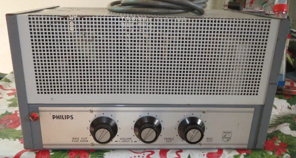 Philips EV4437A Limiter late 1960's 100w Via 6 x 6CM5 Ex Keith Koen