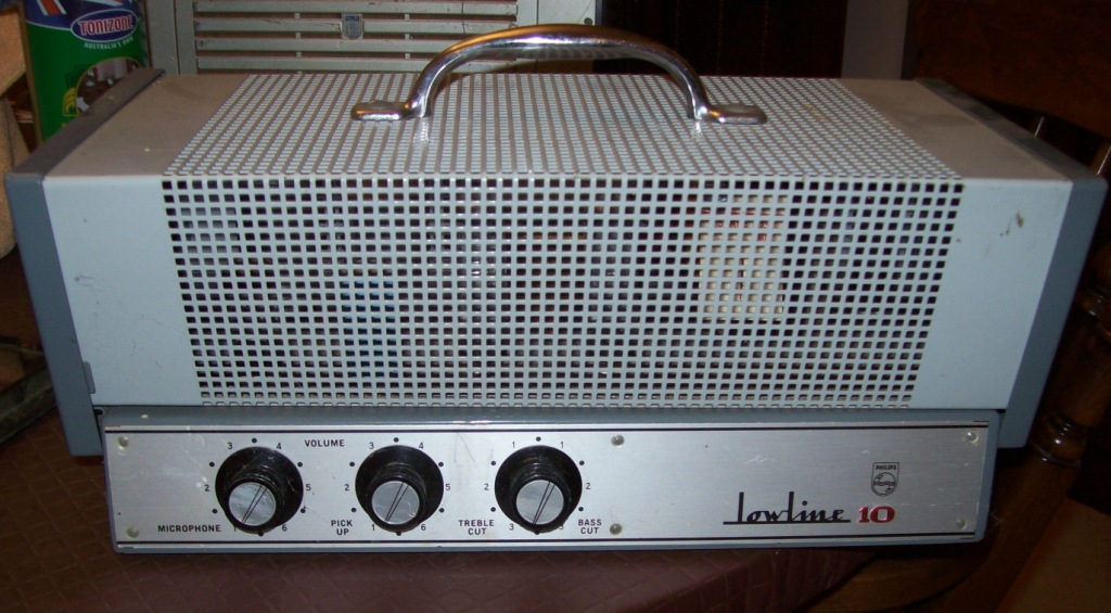 Philips Lowline 10 Late 1960's 10w Via 2 x 6GW8 Ex Keith Koen