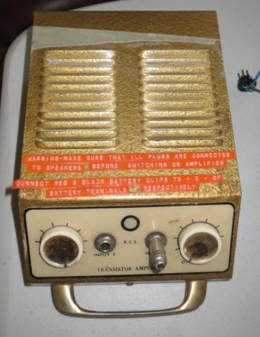 RCS Transistor Amplifier