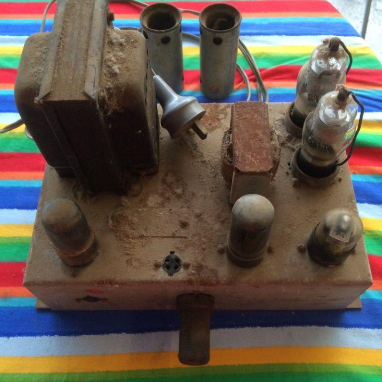 Radiogram Amp 2 x 6V6