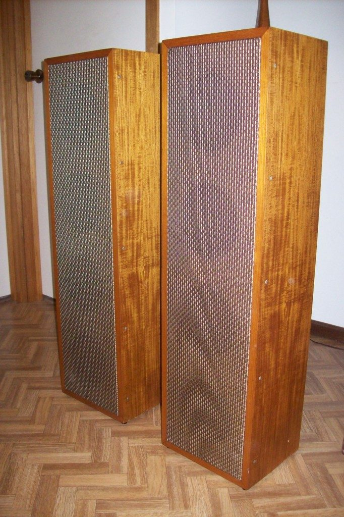 Column Speakers 4 x 8 inch Ex St Augustin's Church