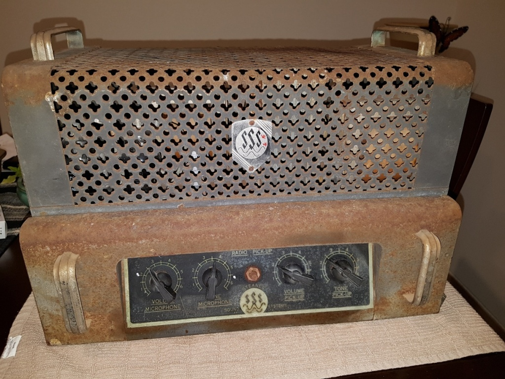 Steanes late 1940's 35w Via 2 x 807