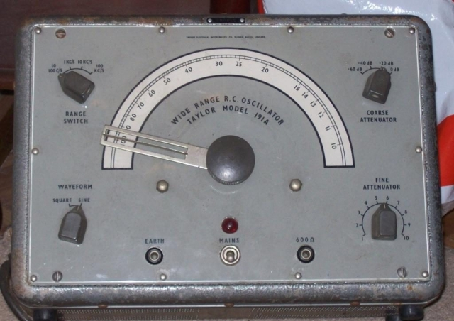 Taylor RC Oscillator 191A