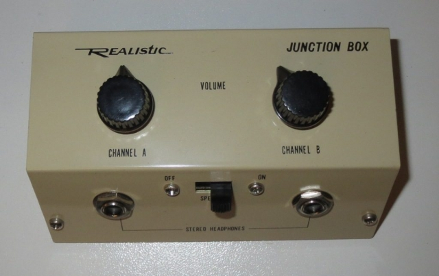 Headphone Breakout Box Late 1960's