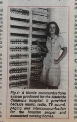 Nomis Rack News Clipping
