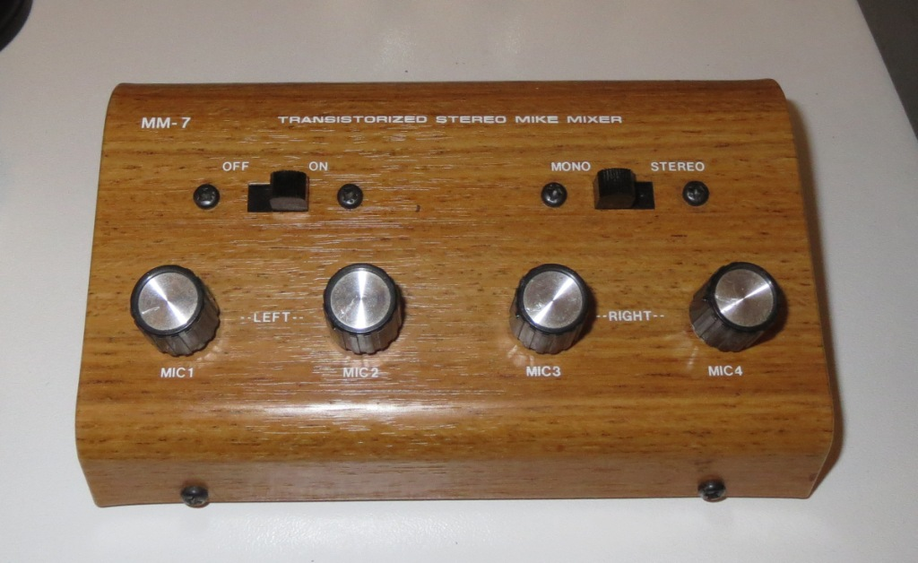 Early Japanese Semi Professional Mixers & Microphones – PRESERVATION