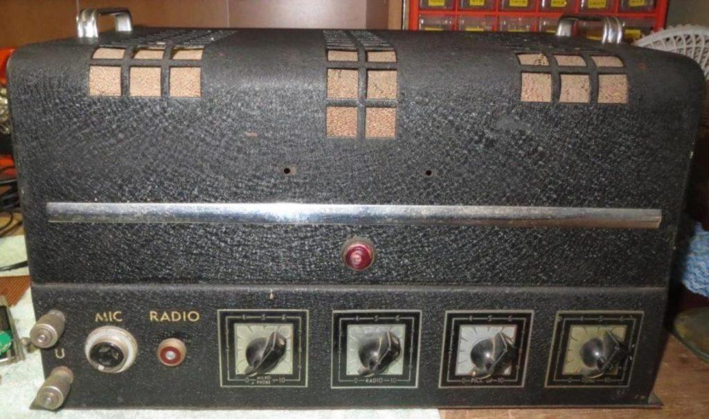 Healing Dynamotor Amp Late 1940s 15W Via 2 x 6V6GT