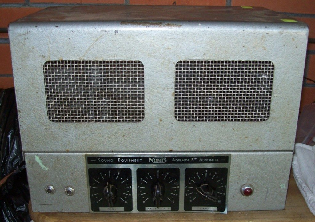 Nomis Early 1950's 15w Via 2 x 6V6