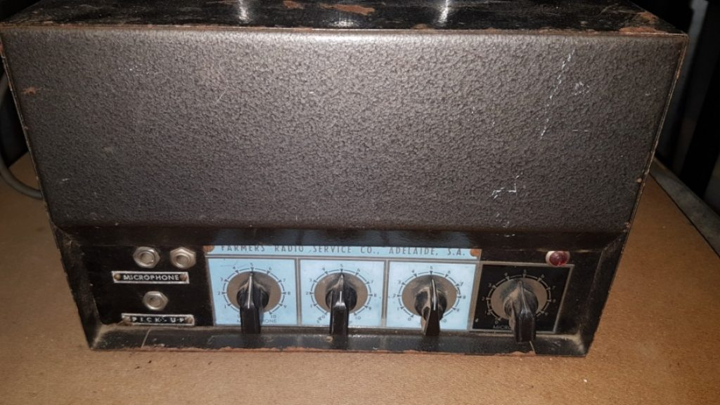 Farmers Radio Amplifier 1950's