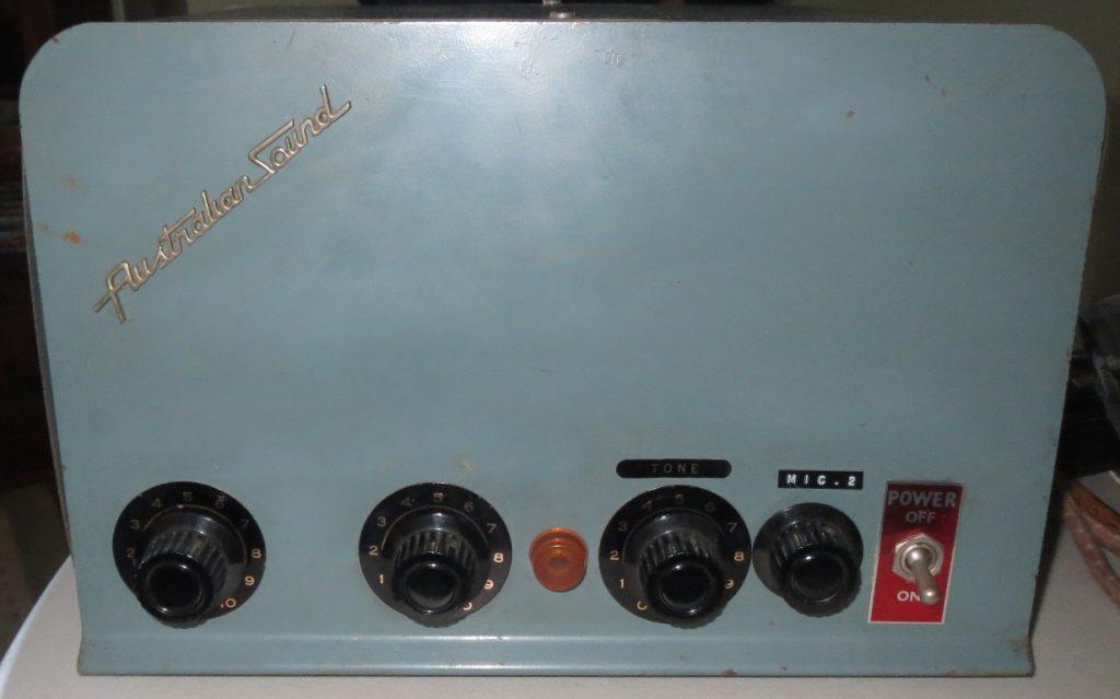 Australian Sound Mid 1950's 20w Via 2 x EL34