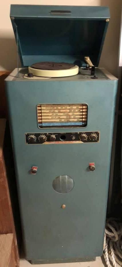 Australian Sound & TV co System 1954, 50W via 2 x EL34