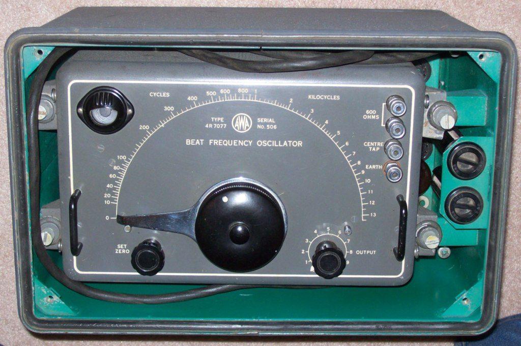 AWA Beat Oscilator 4R7007