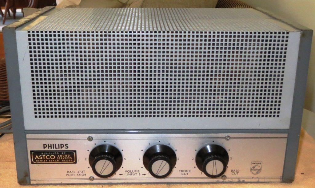 Philips EV4435A late 1960's Ex ASTCO SA 30w Via 2 x 6CM5