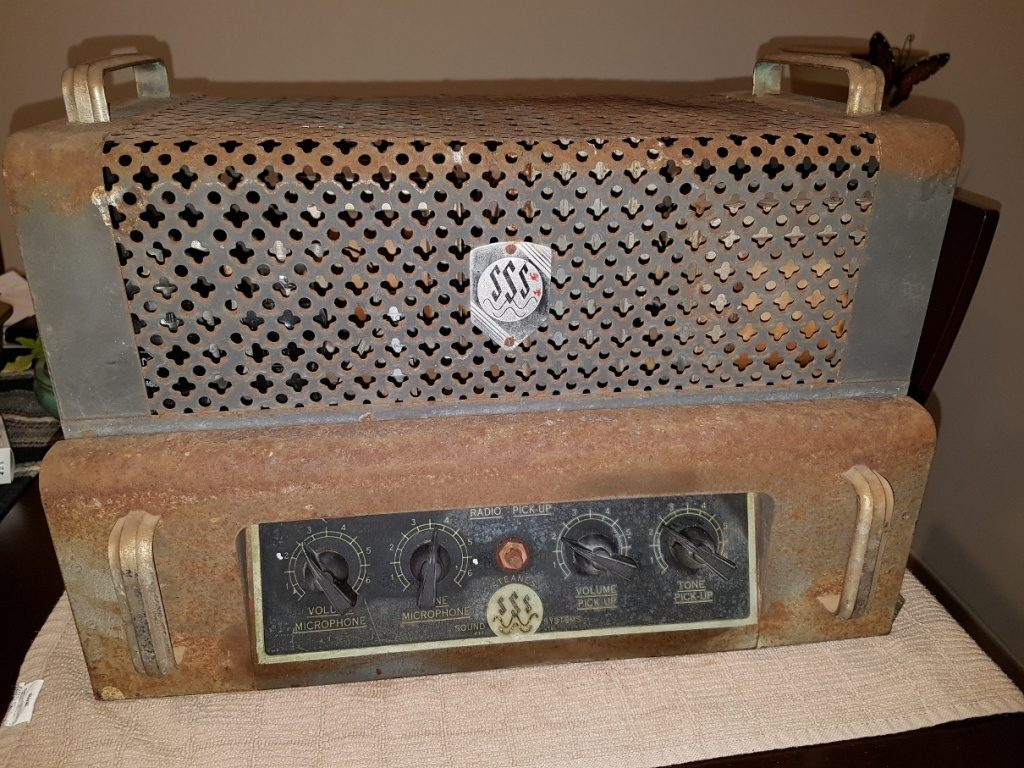 Steanes late 1940's 35w Via 2 x 807