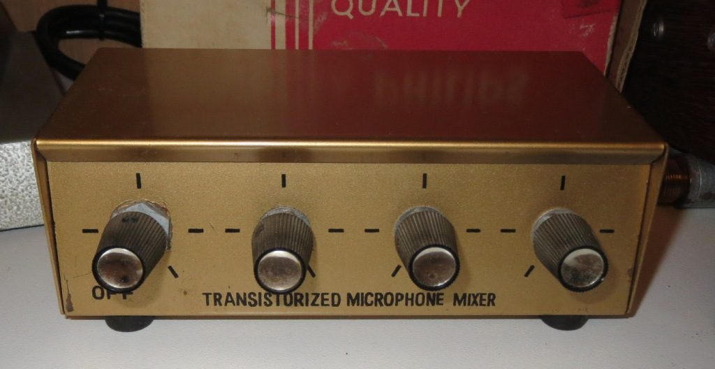 1965 4CH Transitor Mixer