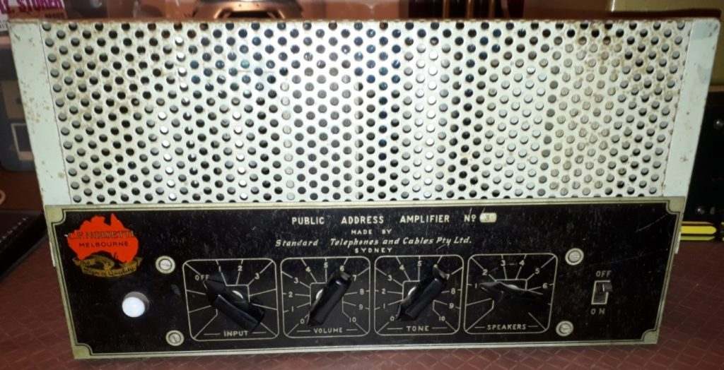 STC Amp No.3 30W Via 2 X 6L6G